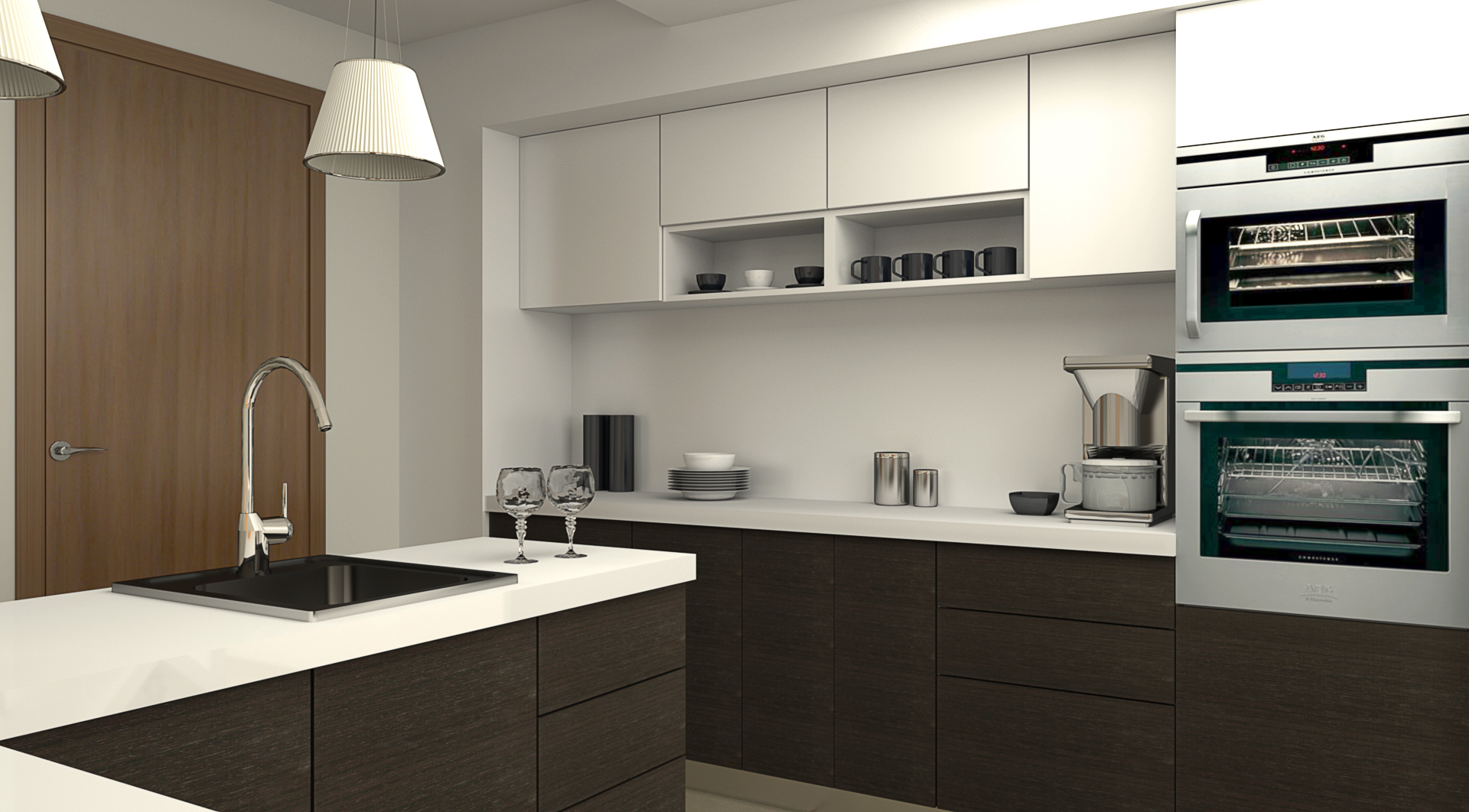 Island modular kitchens island kitchen designs ahmedabad for Kitchen designs modular