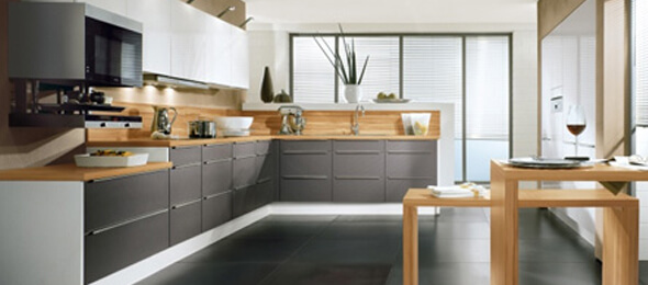 L Shaped Modular Kitchens | L Shaped Kitchen Designs