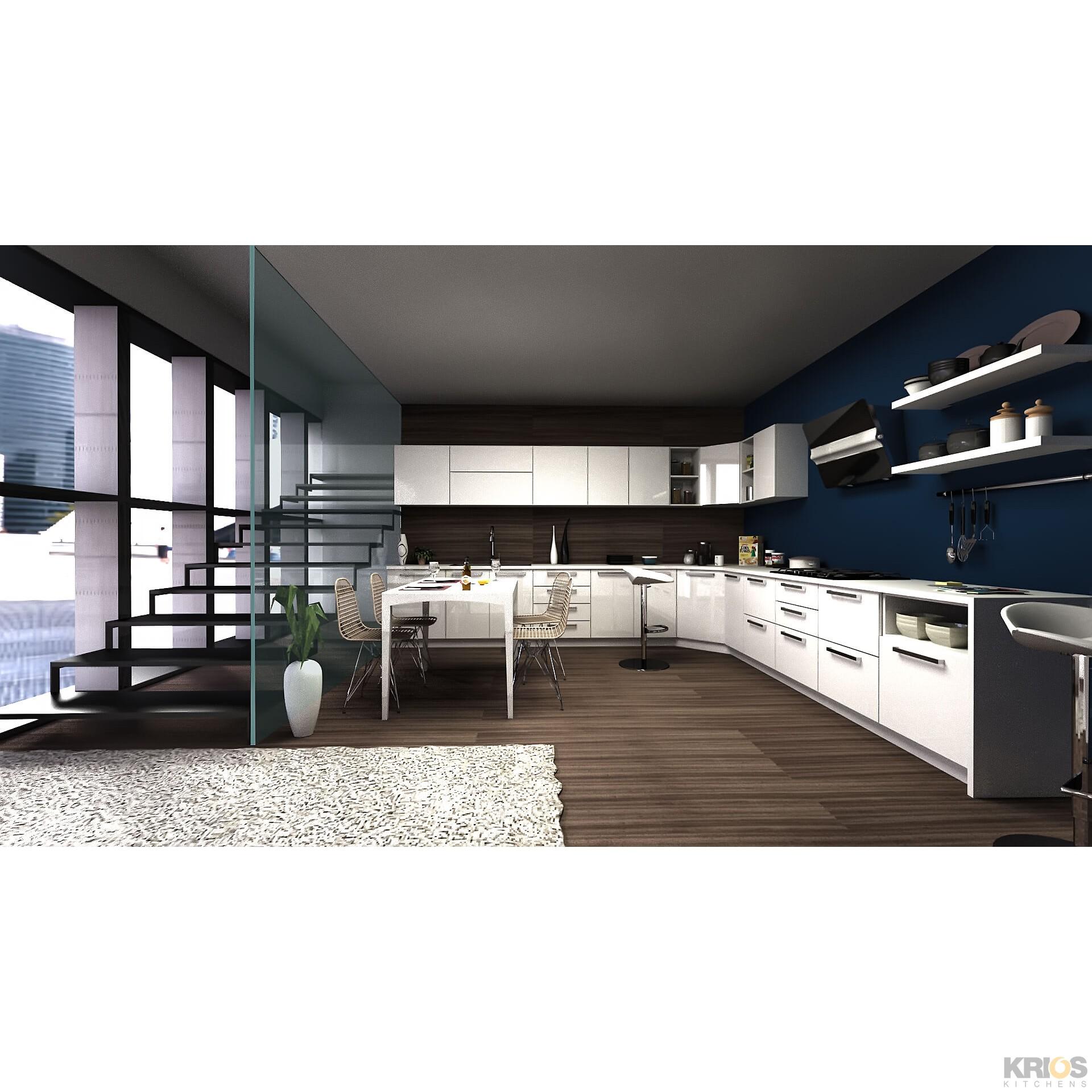L Shaped Modular Kitchen Designs Catalogue: Modular Kitchens