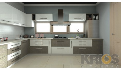Aspros WhiteU Shaped Modular Kitchens   U Shaped Kitchen Designs. U Shaped Modular Kitchen Design. Home Design Ideas